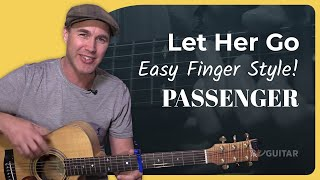 let her go passenger guitar lesson tutorial acoustic finger style bs 625