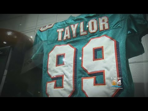 Jason Taylor Excited About Football Hall Of Fame Honor
