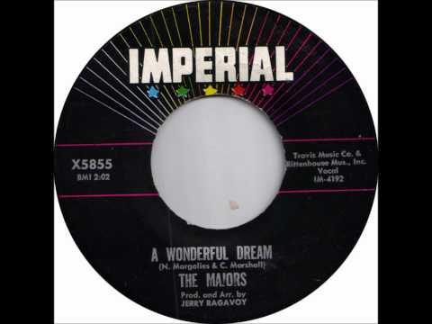 MAJORS - A WONDERFUL DREAM / TIME WILL TELL - IMPERIAL 5855 - 1962 - CLASSIC