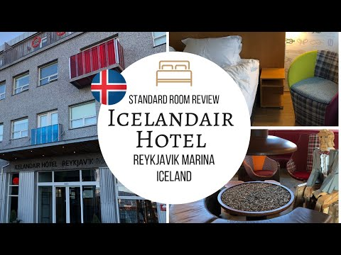 Icelandair Hotel, Reykjavik Marina - Standard Room Review in 4K