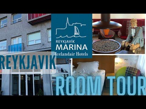 Icelandair Hotel, Reykjavik Marina - Standard Room Review in 4K