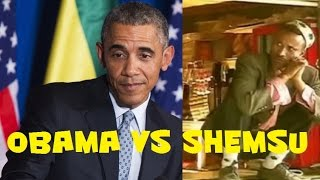 Shemsu with Obama