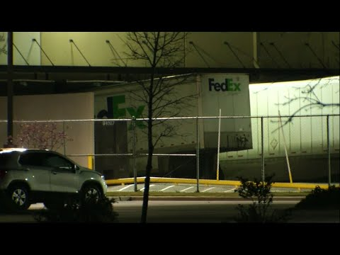 Raw: Explosion In Fedex Plant Near San Antonio