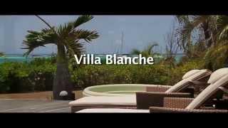 Villa Blanche, Nos Villas de luxe filmées par des drones au dessus du Lagon de Guadeloupe