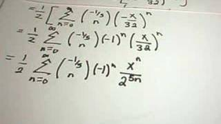 The Binomial Series - Example 1