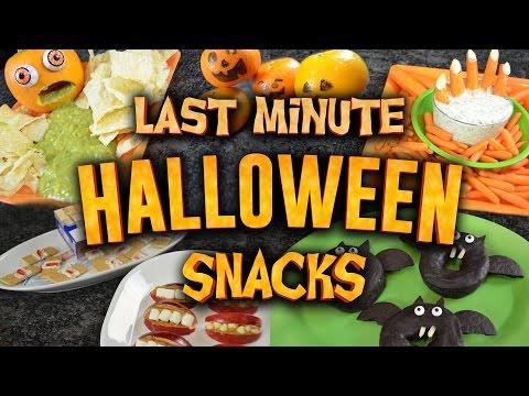 10 Juicy Snack Hacks For Halloween