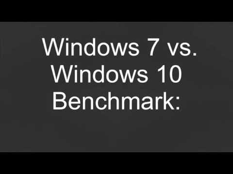 Windows 7 vs. Windows 10