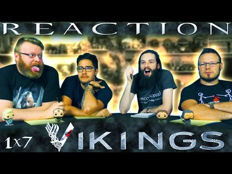 "Vikings 1x7 REACTION!! ""A King's Ransom"""