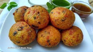 Super Crispy Potato Snacks Recipe in Hindi by Indian Food Made Easy