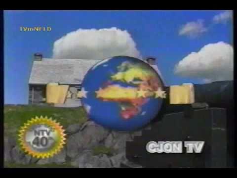 NTV (CJON-TV) 40th Anniversary ID - Rotation And Scenery #1 (1995)