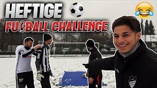 HEFTIGE FUßBALL CHALLENGE 😂 l Yavi TV