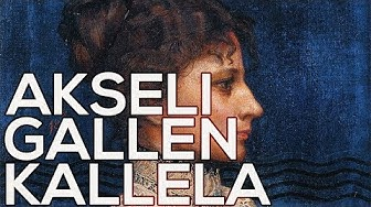 Akseli Gallen Kallela: A collection of 207 paintings (HD)