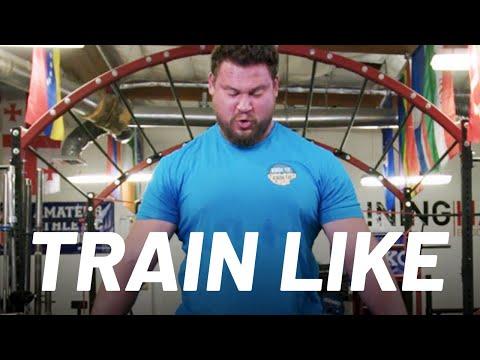 World's Strongest Man Martins Licis Explains His Workout | Train Like a Celebrity | Men's Health