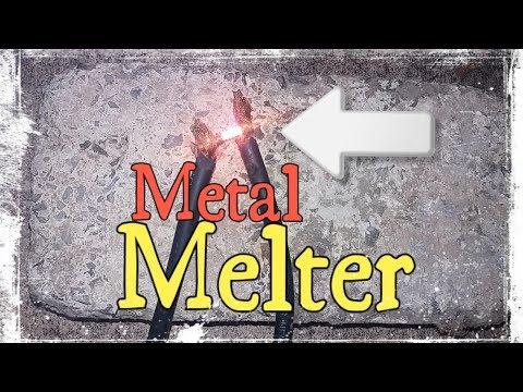 DIY Metal Melter (melt metal in 5 seconds) !!!