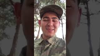 Şehit Piyade Uzman Onbaşı Yunus Mermer'in ailesine gönderdiği video