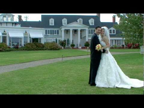 Wedding at The Inn at Perry Cabin, St. Michaels, Maryland.  By Phyllis Marsh Productions