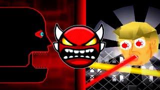 Top 5 weird geometry dash Boss Battles thumbnail