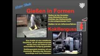 46   Wissensfloater - Gießen in Dauerformen