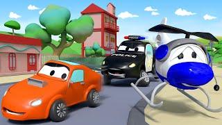 Детские мультфильмы с грузовиками Гектор решает проблему Авто Патруль Car City World App