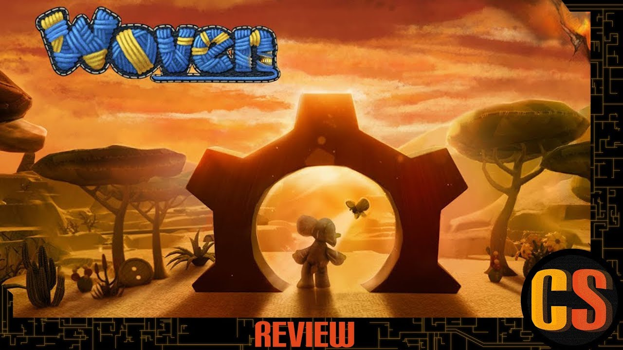 WOVEN - PS4 REVIEW (Video Game Video Review)