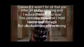 Glee Cast Fighter Lyrics