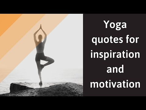 Yoga Quotes For Inspiration And Motivation Youtube