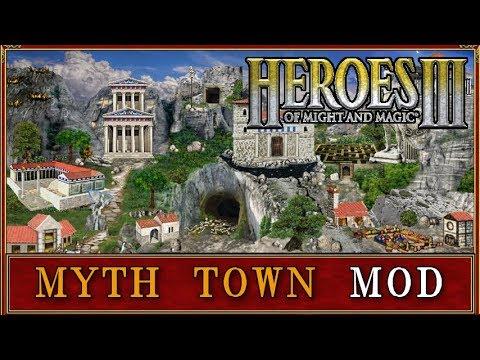 Heroes III - Mythological Town (Myth Mod)