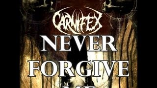 carnifex never forgive me guitar cover
