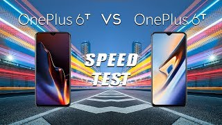 OnePlus 6T (6GB) vs OnePlus 6T (8GB): Speed Test - How Fast?