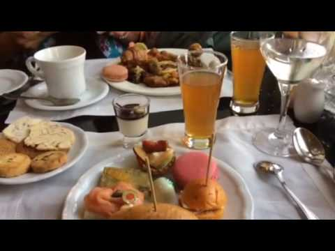 high tea at the Taj Mahal Palace in Mumbai/Bombay, India