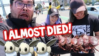 POKÉMON GO: ULTRA AR = REAL LIFE KRABBY?! & INSANE SHINY INCENSE LUCK!!!