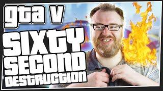 60 SECOND DESTRUCTION - GTA 5 Online (Cunning Stunts DLC)