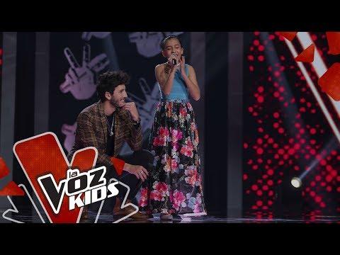 Isabella sings No Hay Nadie Más in the Rescues | The Voice Kids Colombia 2019