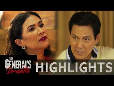 Amelia and Tiago agree to commence their vile plans against Corazon | The General's Daughter