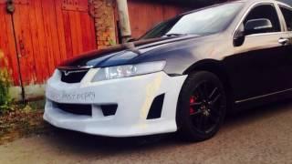 Передний бампер Mugen для Honda Accord 7 / ParTuning / Хонда Аккорд 7 / Front bumper Mugen