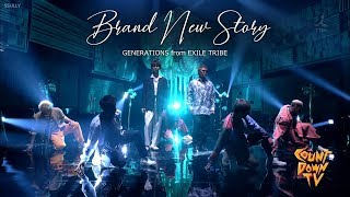 Gambar cover GENERATIONS from EXILE TRIBE / Brand New Story [Stage Mix(교차편집)]