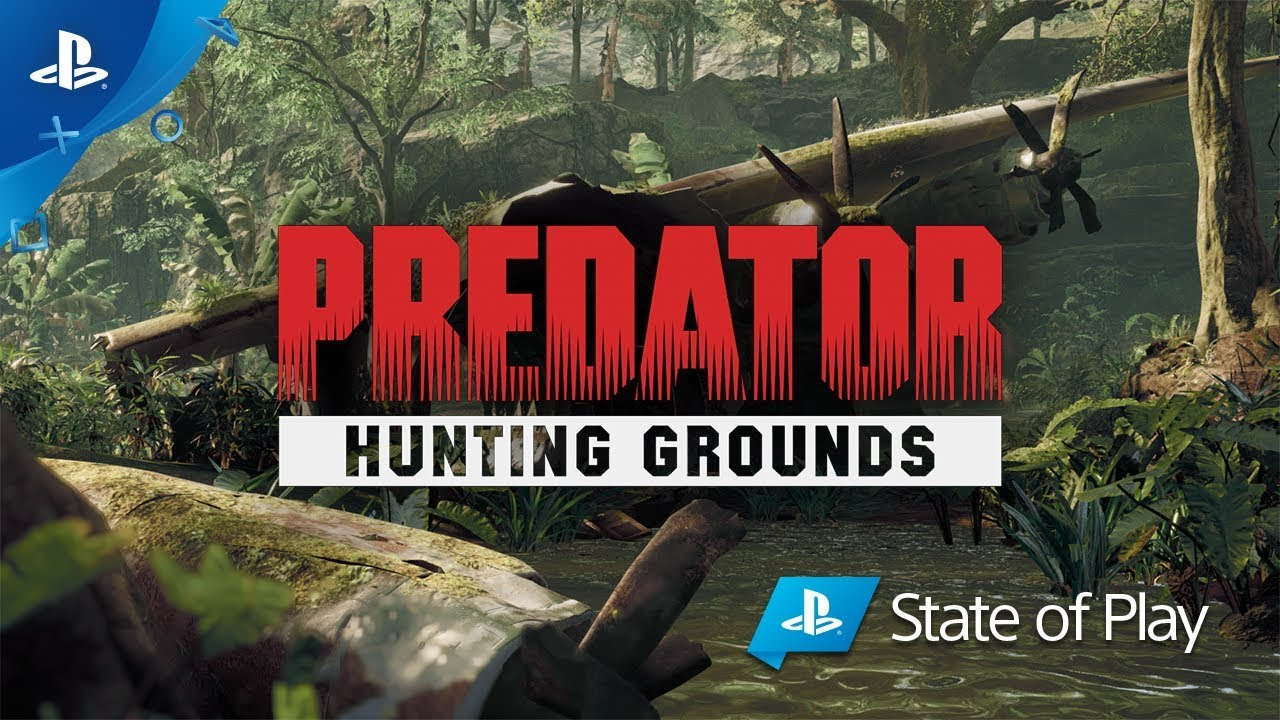Predator Hunting Grounds Reveal Trailer Ps4 Youtube