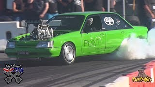 blown vk nearly takes out the light tower at west coast nats