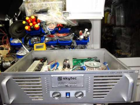 skytec 2000 amplifier repair youtube. Black Bedroom Furniture Sets. Home Design Ideas