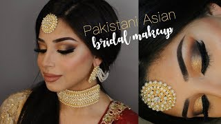 Pakistani Asian Bridal Makeup | Nadia Maya
