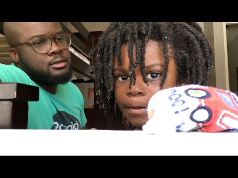 Chocolate Babies Get Their Hair Done | VEDA Day 15