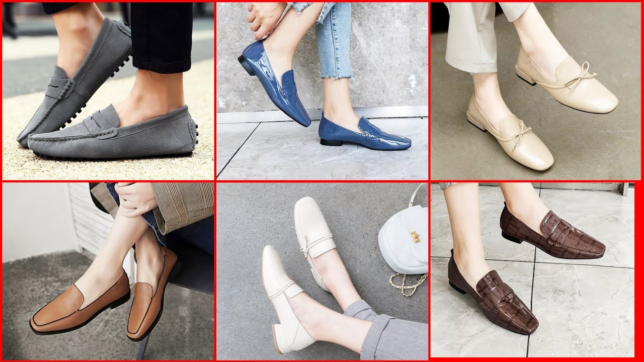 New Stylish Loafer Shoes For Girl Latest Design 2020||Ladies Loafer Shoes||Girls  Loafers & Mocassins - YouTube