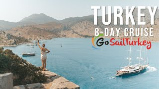 Sailing Bodrum to Fithiye with Go Sail Turkey - What to Expect