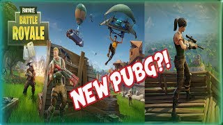 New PUBG?! Cartoon?! Free to Play-FORTNITE Battle Royale