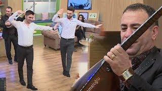Aşıq Mübariz və Ramil Həsənov | Sazda milli rəqs