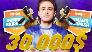 CETTE GAME ME FAIT GAGNER 30 000$ !!! (FORTNITE SUMMER SKIRMISH GAMEPLAY)