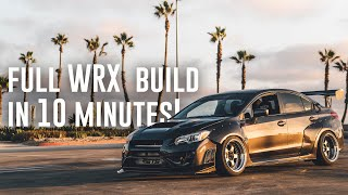 Building a Subaru WRX IN 10 MINUTES! *AMAZING TRANSFORMATION*