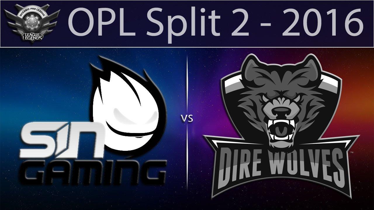LoL VODs] SIN vs DW Game 2   OPL 2016 Split 2 (14 06 2016
