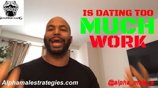 How To Stay Focused On Your Purpose Once It Takes Off & Is Dating Too Much Work