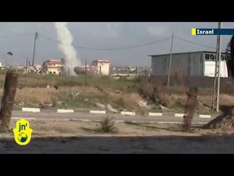 Israel Under Attack: Gaza militants fire four rockets at Sha